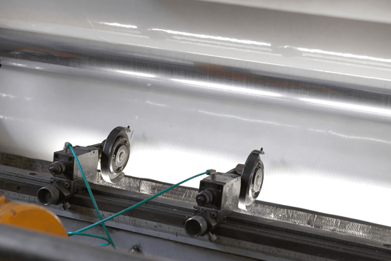 Cutting of PVC coils and other material