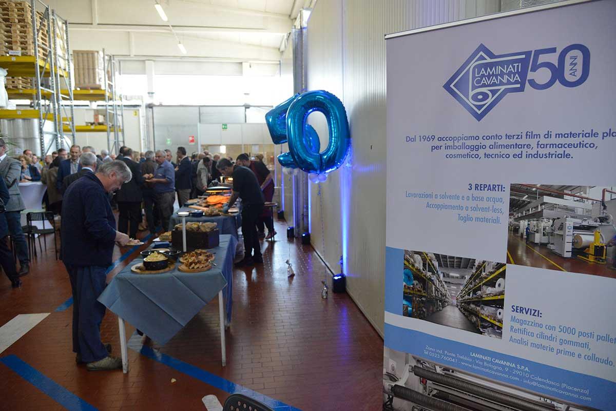 Laminati Cavanna festeggia 50 anni di attività