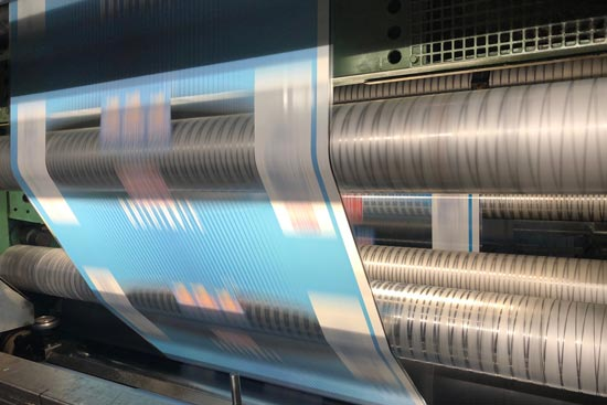 Laminating Plastic Films and other Solvent Less Materials